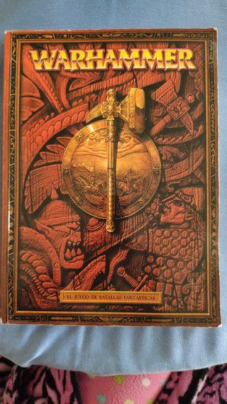Libro Warhammer, el juego de batallas fantásticas
