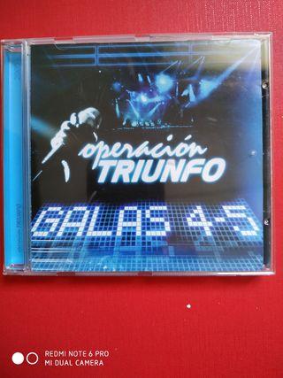 OPERACIÓN TRIUNFO GALAS 4/5.