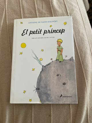 Libro El petit príncep (en catalán)