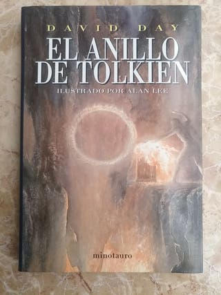 "Libro ""El anillo de Tolkien"" - David Day, Alan Lee"