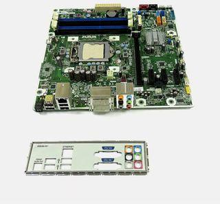 Placa base LGA1155 Micro ATX con shield