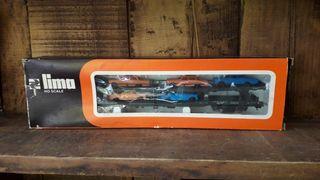 Vagón de tren eléctrico marca Lima