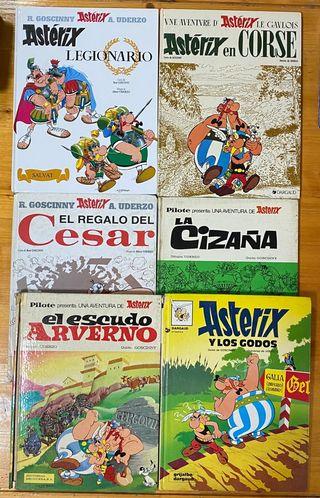 Lote de 4 cómic Astérix +2 cómic Astérix de regalo