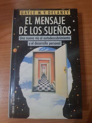 """Libro """"El mensaje de los sueños""""."""