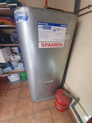 deposito de gasoil de 1000 litros
