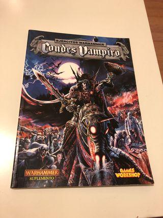 Códex condes vampiro 5ª Warhammer