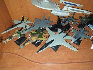 Aviones de combate Altaya escala 1/72