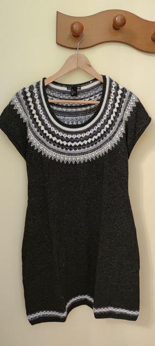 vestido lana/punto premamá