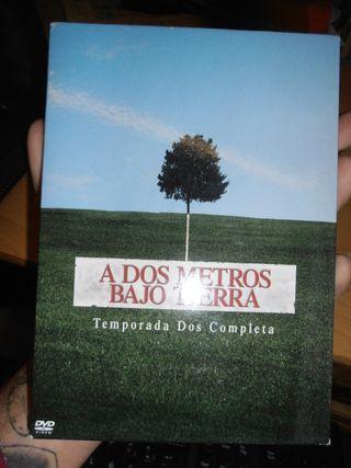 DVD Serie A dos metros bajo tierra 2ª temporada