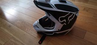 casco y botas motocross