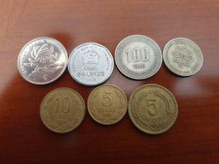 Monedas de coleccion.