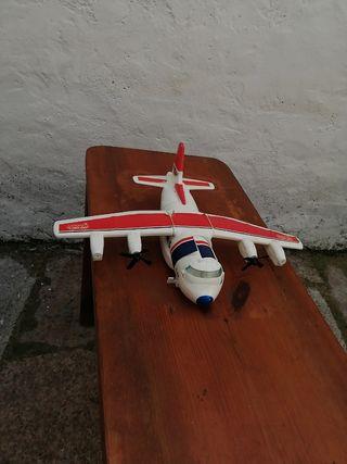 avión transporte Micromachines Galoob