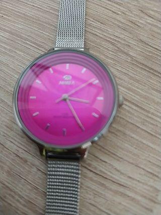 reloj Marea de chica con esfera rosa