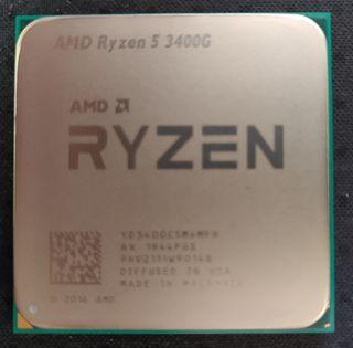 Procesador AMD Ryzen 5 3400G APU AM4