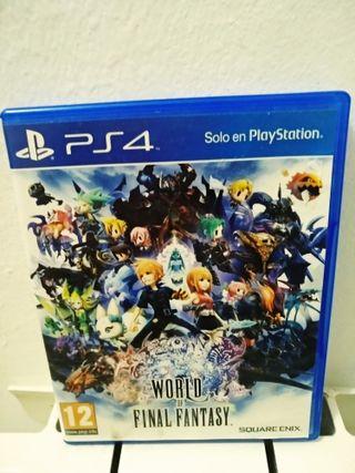 Juego World of Final Fantasy PS4
