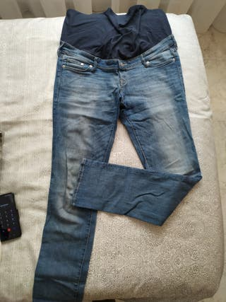 vaquero/pantalon premama H&M