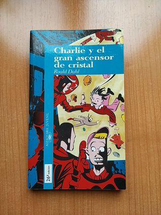 """Libro """"Charlie y el ascensor de cristal"""" de Dahl"""