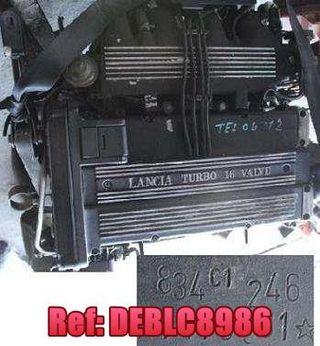 DEBLC8986 Motor Lancia Alfa Fiat Motor 2.0 16v Tur