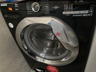 Lavadora Hoover Negra A+++ 8 kg
