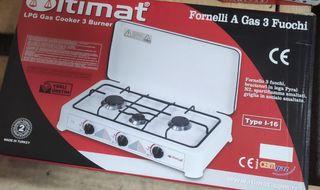 cocina de gas de butano