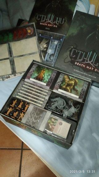 Cthulhu death may die en castellano juego de mesa