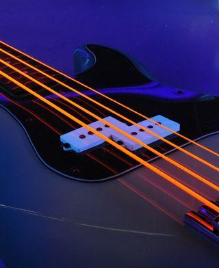 5 Cuerdas de bajo DR Neon Orange 45-125
