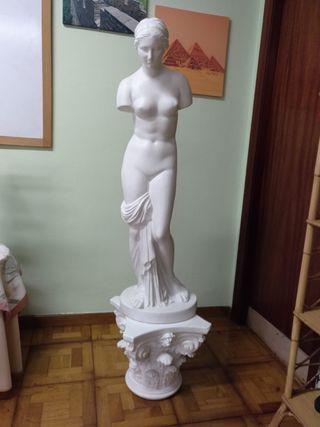 Escultura escayola blanca