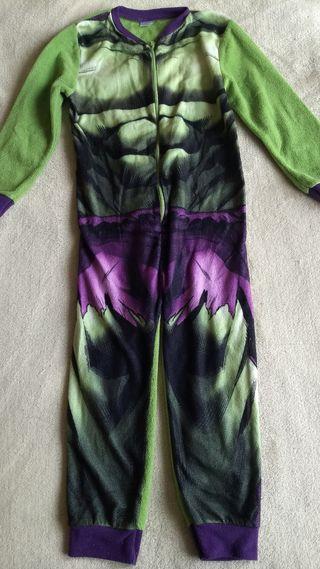 Pijama disfraz Hulk 6-7 años