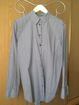 Camisa Benetton 100% algodón