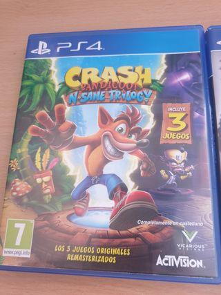 Crash Bandicoot para PS4