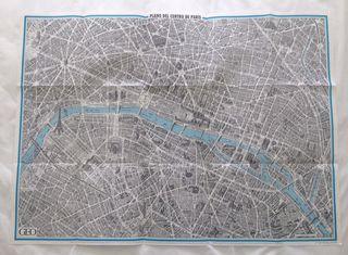 Plano de París de la revista Geo