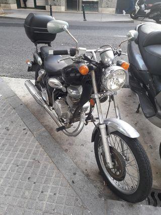 Moto kymco zing 2 125