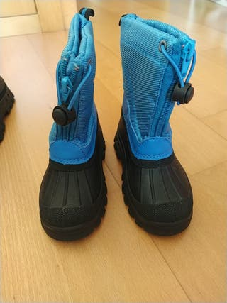 botas de nieve talla 25