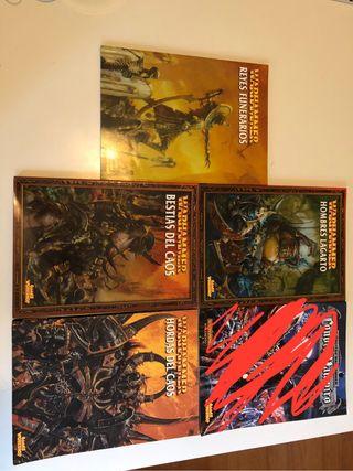 Lote códex 6ª Warhammer