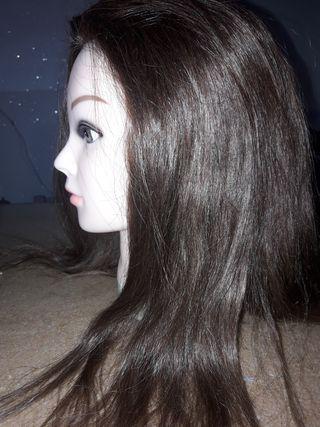 cabeza peluquería