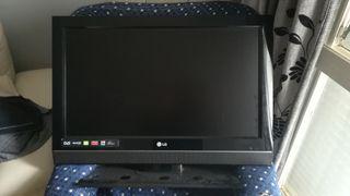 televisión de plasma con tdt sin mando de televisi