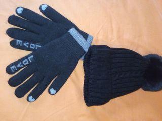 gorro+ guantes