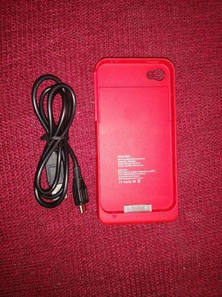 batería cargador para iPhone 4 y 4S