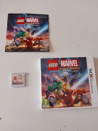 Juego Nintendo 3DS: Lego Marvel Super Héroes