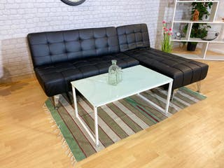 Sofá chaise longue convertible en cama XS