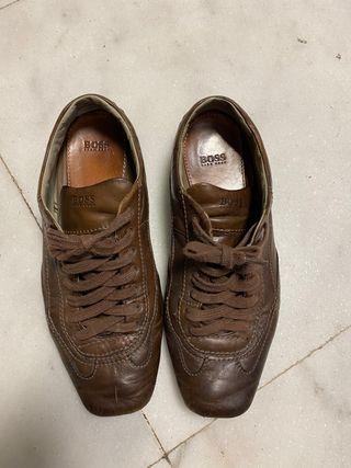 Zapatos de piel de Hugo Boss