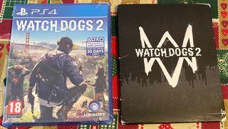 Watch_Dogs 2 con Mapa del juego/ PS4