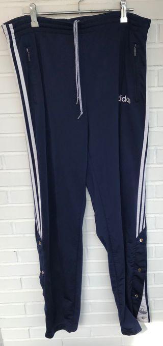 Pantalón azul marino VINTAGE ADIDAS talla 42 46