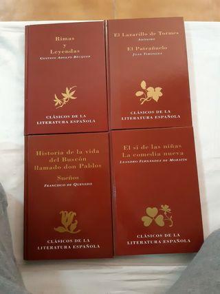 Clasicos de La Literatura española