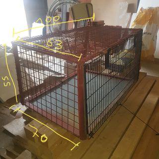 jaula de transporte de animales perros gatos etc..