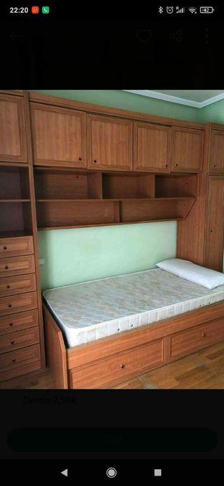 dormitorio cama nido