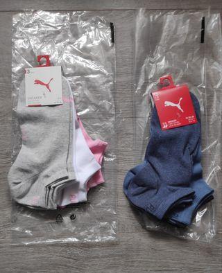 Dos packs calcetines Puma. Nuevos a estrenar
