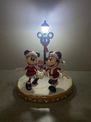 Figura Mickey Minnie navidad