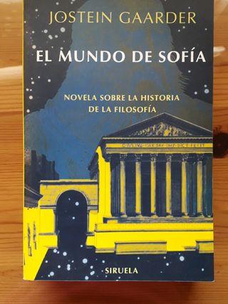 Libro El mundo de Sofía - Jostein Gaarder
