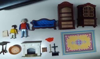 Mobiliario victoriano de Playmobil